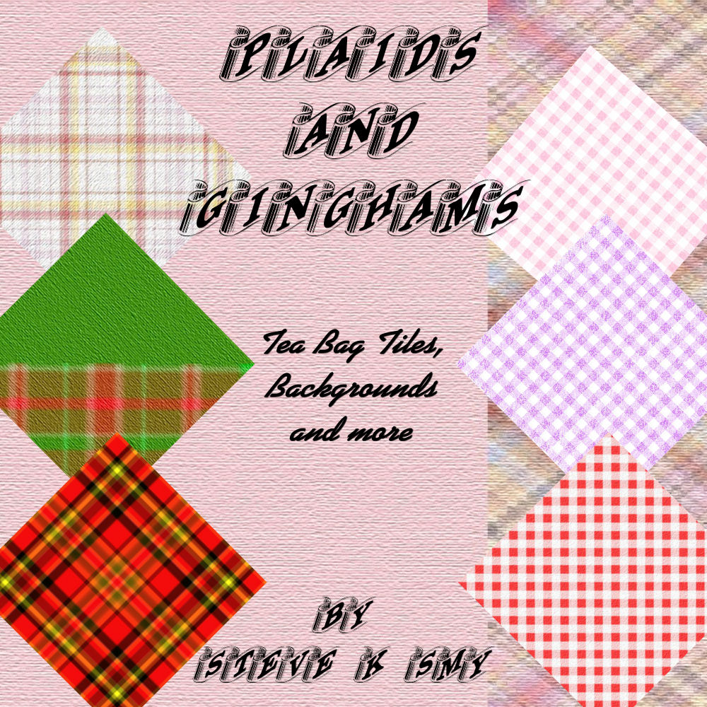 Plaids & Ginghams Craft CD